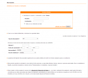 Contratar Depositos online Bankinter